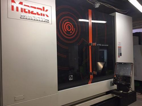 Mazak VTC-800/20SR, 4 tengelyes marógép. GINOP-1.2.2-16-2017-01097